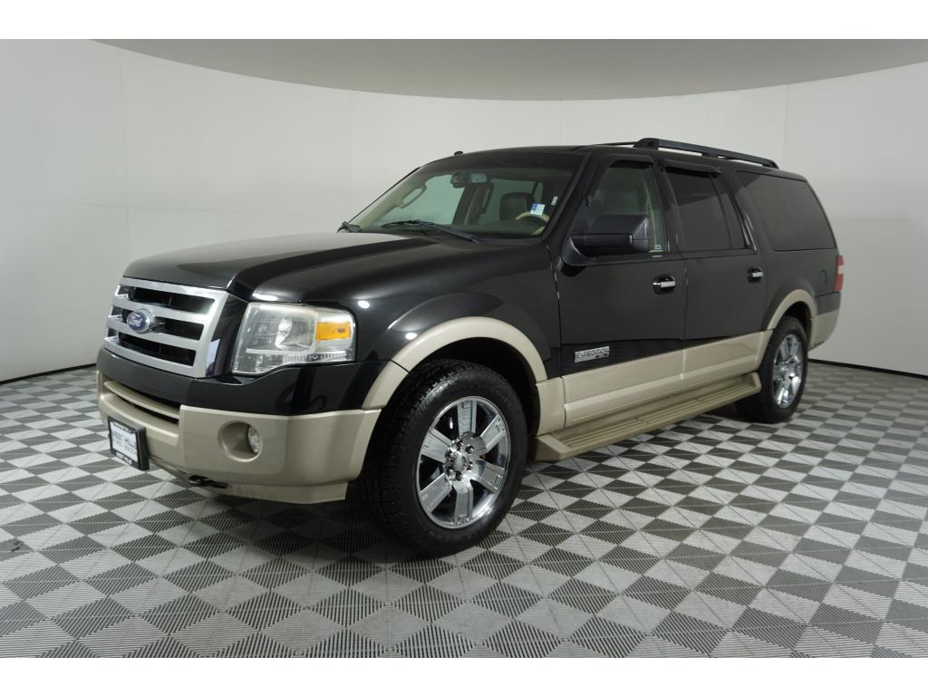 Ford Expedition El >> Pre Owned 2007 Ford Expedition El Eddie Bauer 4 Door