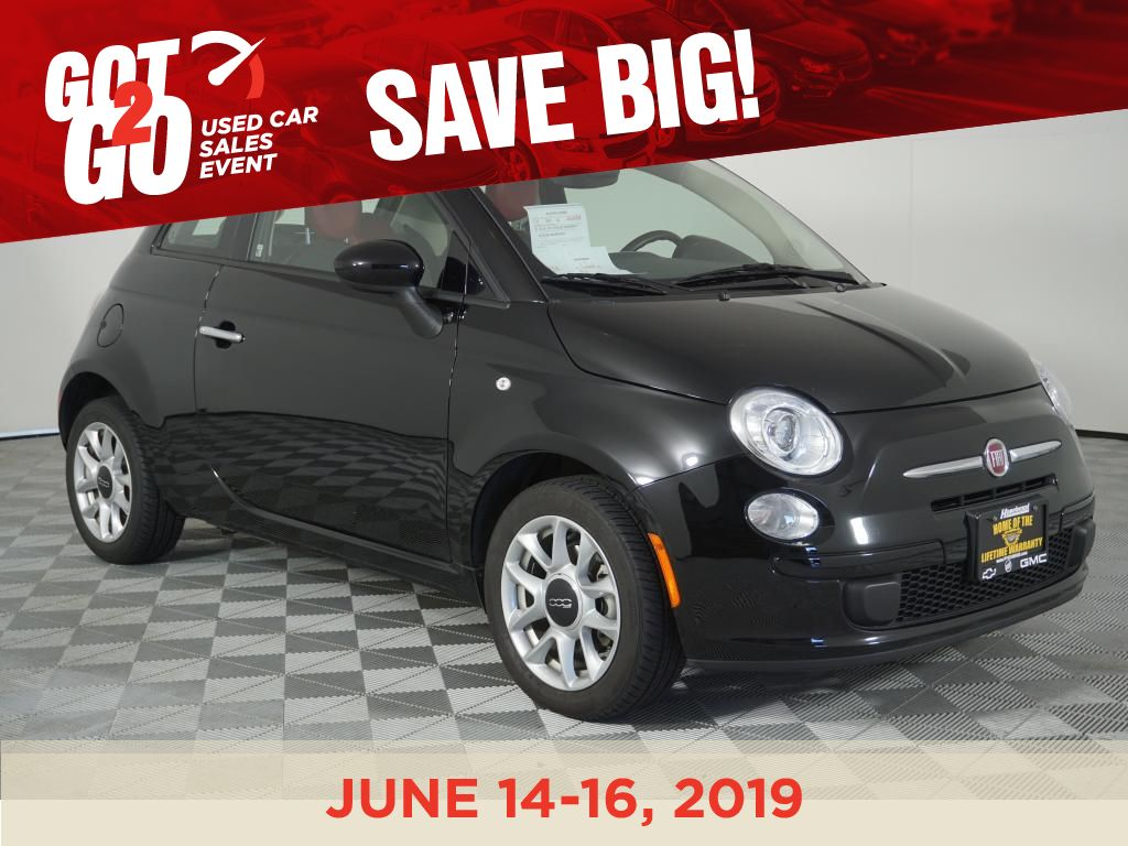 Pre-Owned 2016 FIAT 500 Easy