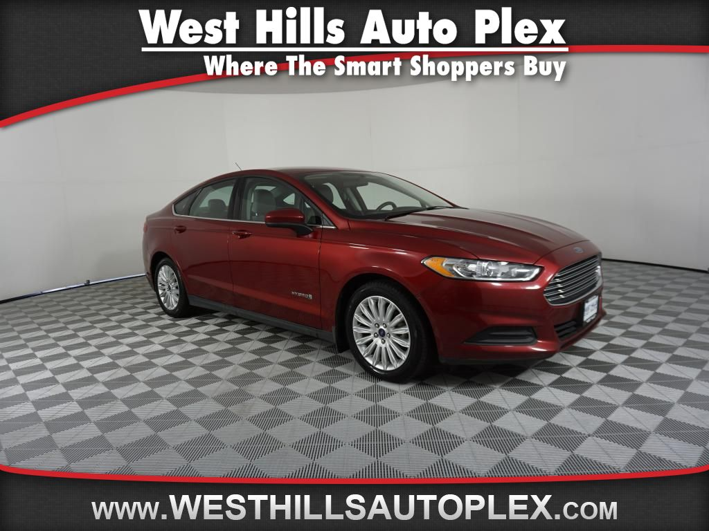 Pre owned 2015 ford fusion s hybrid