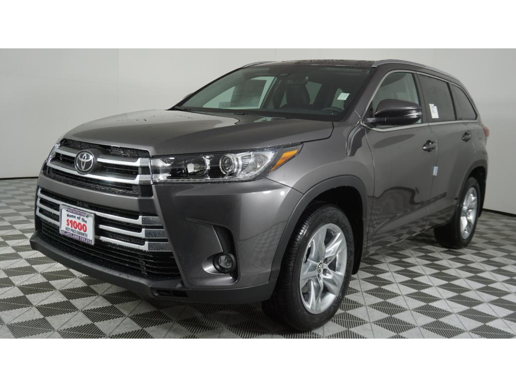 New 2019 Toyota Highlander Limited V6 Awd Natl In Bremerton