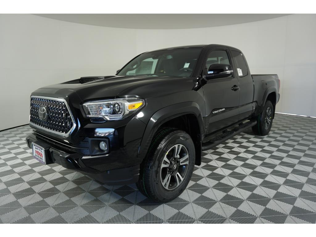 toyota new detail bed tacoma sport cab double automatic trd
