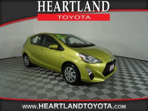 Certified Pre-Owned 2015 Toyota Prius c Four